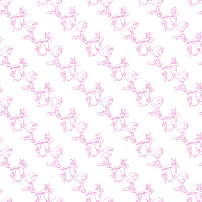 Click to get the codes for this image. Pink Stork With Baby Background Seamless, Babies  Maternity Background, wallpaper or texture for any blog, web page, phone or desktop