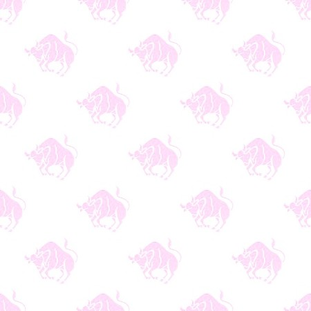 Click to get the codes for this image. Pink Taurus Astrology Watermark On White, Astrology  Zodiac Symbols Background, wallpaper or texture for, Blogger, Wordpress, or any web page, blog, desktop or phone.