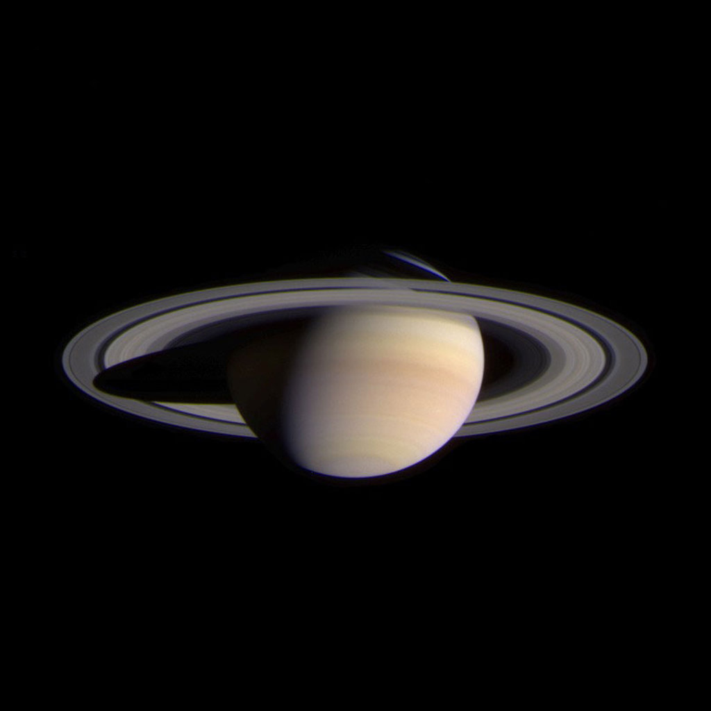 Click to get the codes for this image. Planet Saturn, Outer Space  Planets Moons etc Background, wallpaper or texture for any blog, web page, phone or desktop