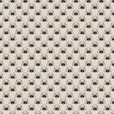 Click to get the codes for this image. Puppy Faces On Tan Background Seamless, Animals  Dogs, Colors  Brown Background, wallpaper or texture for Blogger, Wordpress, or any phone, desktop or blog.