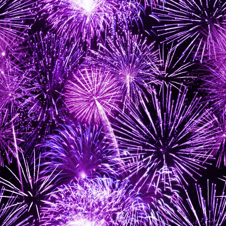 Click to get the codes for this image. Purple Fireworks Tiled Background, Fourth of July, Holidays  New Years,  New Backgrounds, Fireworks, Colors  Purple Background, wallpaper or texture for, Blogger, Wordpress, or any web page, blog, desktop or phone.
