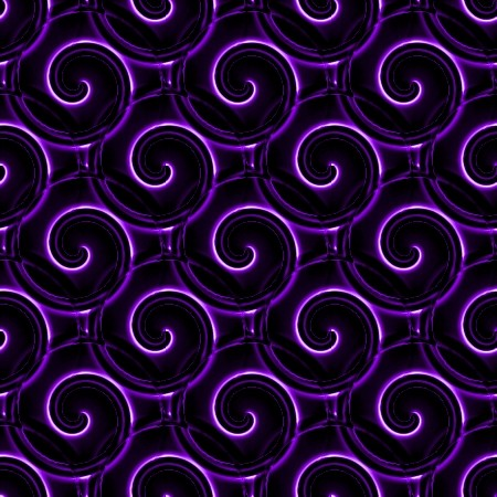 Click to get the codes for this image. Purple And Black Spirals, Patterns  Spirals and Swirls, Colors  Purple Background, wallpaper or texture for Blogger, Wordpress, or any phone, desktop or blog.