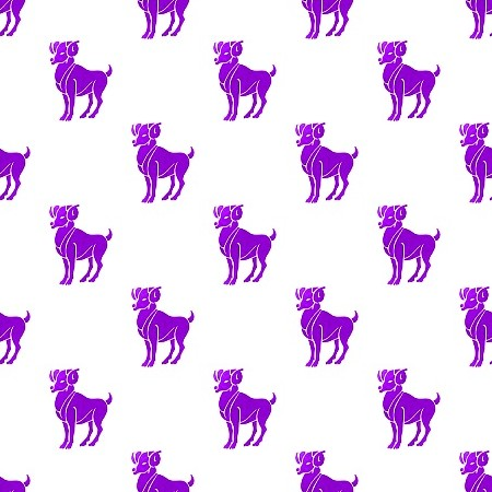 Click to get the codes for this image. Purple Aries On White, Astrology  Zodiac Symbols Background, wallpaper or texture for, Blogger, Wordpress, or any web page, blog, desktop or phone.