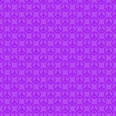 Click to get the codes for this image. Purple Peace Signs Background Seamless, Peace Signs, Colors  Purple Background, wallpaper or texture for Blogger, Wordpress, or any phone, desktop or blog.