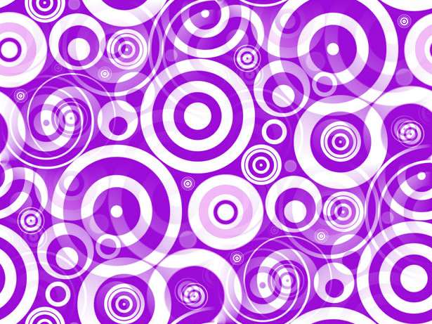 Click to get the codes for this image. Purple Retro Circles, Patterns  Circles and Polkadots, Colors  Purple Background, wallpaper or texture for Blogger, Wordpress, or any phone, desktop or blog.