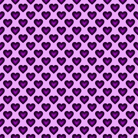 Click to get the codes for this image. Purple Satin Hearts Background Seamless, Hearts, Colors  Purple Background, wallpaper or texture for, Blogger, Wordpress, or any web page, blog, desktop or phone.