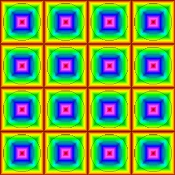 Click to get the codes for this image. Rainbow Circle Squares Pattern, Patterns  Circles and Polkadots, Patterns  Diamonds and Squares, Colors  Rainbow Background, wallpaper or texture for Blogger, Wordpress, or any phone, desktop or blog.