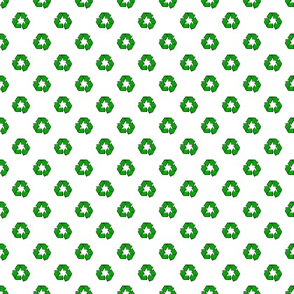 Click to get the codes for this image. Recycling Arrows Small, Environmental, Earth Day, Signs  Symbols Background, wallpaper or texture for, Blogger, Wordpress, or any web page, blog, desktop or phone.
