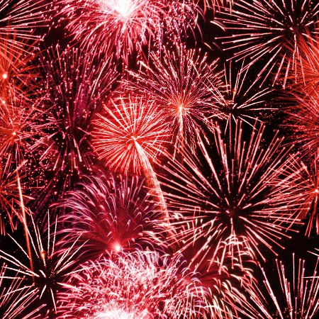 Click to get the codes for this image. Red Fireworks Tiled Background, Fourth of July, Holidays  New Years,  New Backgrounds, Fireworks, Colors  Red Background, wallpaper or texture for, Blogger, Wordpress, or any web page, blog, desktop or phone.