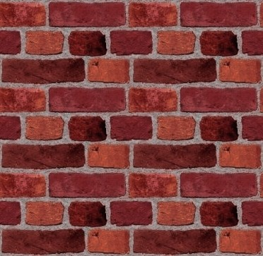 Click to get the codes for this image. Red Brick Wall Tileable Wallpaper, Bricks, Colors  Red, Walls Background, wallpaper or texture for, Blogger, Wordpress, or any web page, blog, desktop or phone.