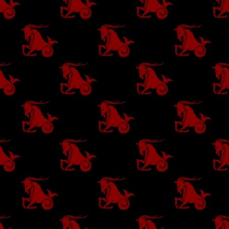 Click to get the codes for this image. Red Capricorn Astrology On Black, Astrology  Zodiac Symbols Background, wallpaper or texture for, Blogger, Wordpress, or any web page, blog, desktop or phone.