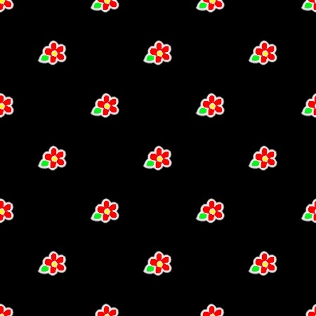 Click to get the codes for this image. Red Flowers On Black, Flowers  Floral Designs, Colors  Red Background, wallpaper or texture for Blogger, Wordpress, or any phone, desktop or blog.