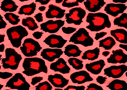 Click to get the codes for this image. Red Leopard Print, Animal Print, Colors  Red Background, wallpaper or texture for, Blogger, Wordpress, or any web page, blog, desktop or phone.