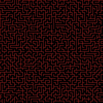 Click to get the codes for this image. Red Maze On Black Background Seamless, Patterns  Mazes, Colors  Red Background, wallpaper or texture for Blogger, Wordpress, or any phone, desktop or blog.