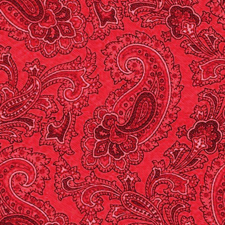 Click to get the codes for this image. Red Paisley Background Seamless Pattern, Colors  Red, Paisleys, Cloth Patterns Background, wallpaper or texture for Blogger, Wordpress, or any phone, desktop or blog.