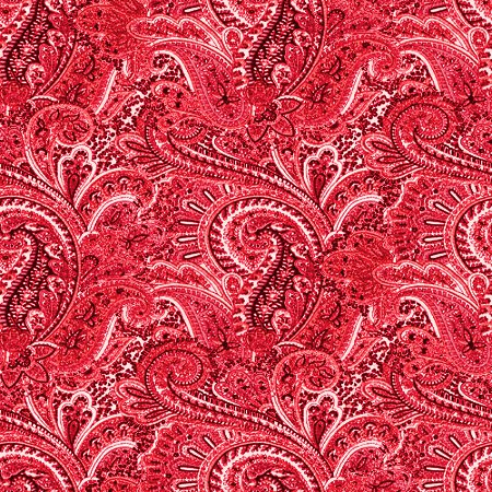 Click to get the codes for this image. Red Paisley Pattern Background Seamless, Cloth Patterns, Paisleys, Colors  Red Background, wallpaper or texture for Blogger, Wordpress, or any phone, desktop or blog.