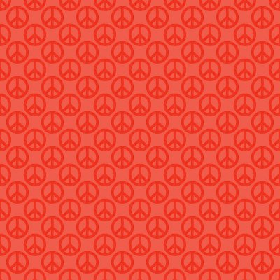 Click to get the codes for this image. Red Peace Signs Background Seamless, Peace Signs, Colors  Red Background, wallpaper or texture for Blogger, Wordpress, or any phone, desktop or blog.