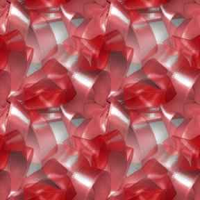 Click to get the codes for this image. Red Ribbons And Bows, Colors  Red, Ribbons and Bows Background, wallpaper or texture for, Blogger, Wordpress, or any web page, blog, desktop or phone.