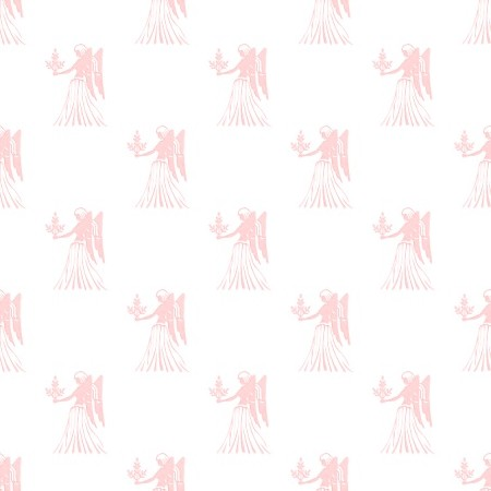 Click to get the codes for this image. Red Virgo Astrology Watermark On White, Astrology  Zodiac Symbols Background, wallpaper or texture for, Blogger, Wordpress, or any web page, blog, desktop or phone.