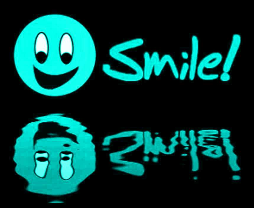 Click to get the codes for this image. Reflecting Aqua Smile, Smiley Faces Background, wallpaper or texture for any blog, web page, phone or desktop