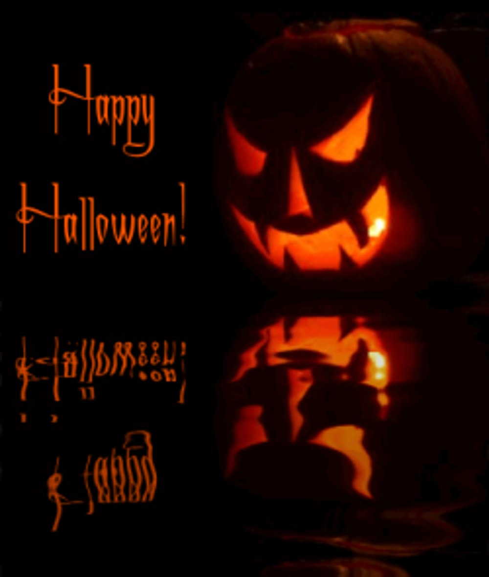 Click to get the codes for this image. Reflecting Halloween Jackolantern, Halloween Background, wallpaper or texture for Blogger, Wordpress, or any phone, desktop or blog.