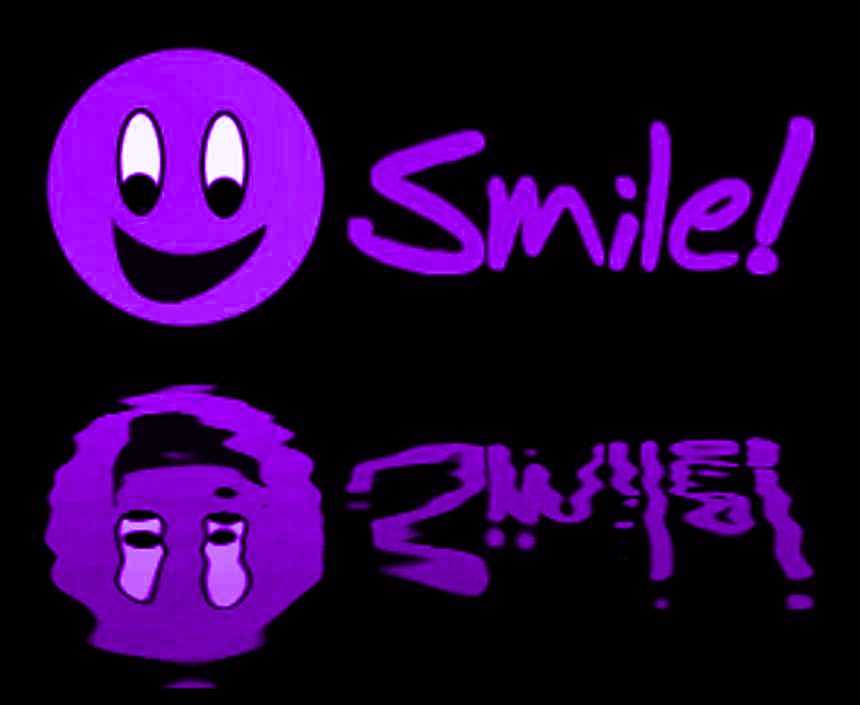Click to get the codes for this image. Reflecting Purple Smile, Smiley Faces Background, wallpaper or texture for any blog, web page, phone or desktop