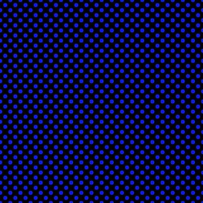 Royal Blue Mini Dots On Black Background Image Wallpaper