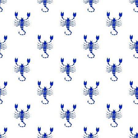 Click to get the codes for this image. Royal Blue Scorpio Astrology On White, Astrology  Zodiac Symbols Background, wallpaper or texture for, Blogger, Wordpress, or any web page, blog, desktop or phone.