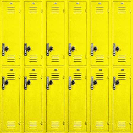 Click to get the codes for this image. School Lockers Background Yellow Tiled, School, Colors  Yellow and Gold,  New Backgrounds Background, wallpaper or texture for, Blogger, Wordpress, or any web page, blog, desktop or phone.