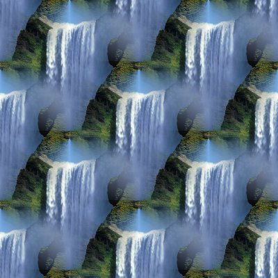 Click to get the codes for this image. Seamless Waterfalls Background, Patterns  Nature Inspired Background, wallpaper or texture for Blogger, Wordpress, or any phone, desktop or blog.