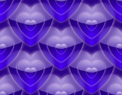 Click to get the codes for this image. Shiney Little Blue Hearts, Hearts, Colors  Blue Background, wallpaper or texture for, Blogger, Wordpress, or any web page, blog, desktop or phone.