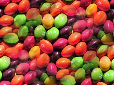 Click to get the codes for this image. Skittles Candy Background, Candy and Food Background, wallpaper or texture for, Blogger, Wordpress, or any web page, blog, desktop or phone.