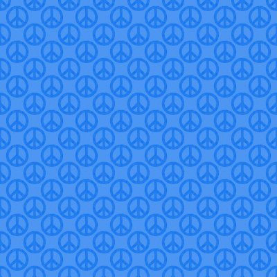 Click to get the codes for this image. Sky Blue Peace Signs Background Seamless, Peace Signs, Colors  Blue Background, wallpaper or texture for Blogger, Wordpress, or any phone, desktop or blog.