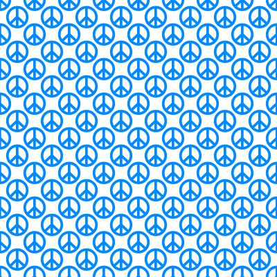 Click to get the codes for this image. Sky Blue Peace Signs On White Background Seamless, Peace Signs, Colors  Blue Background, wallpaper or texture for Blogger, Wordpress, or any phone, desktop or blog.