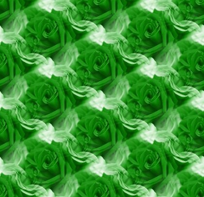 Click to get the codes for this image. Small Green Roses, Saint Patrick's Day, Colors  Green, Flowers  Floral Designs Background, wallpaper or texture for Blogger, Wordpress, or any phone, desktop or blog.