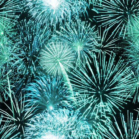 Click to get the codes for this image. Teal Fireworks Tiled Background Wallpaper, Fourth of July, Holidays  New Years,  New Backgrounds, Fireworks, Colors  Aqua Background, wallpaper or texture for, Blogger, Wordpress, or any web page, blog, desktop or phone.