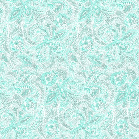 Click to get the codes for this image. Teal Paisley Background Seamless, Cloth Patterns, Paisleys, Colors  Aqua Background, wallpaper or texture for Blogger, Wordpress, or any phone, desktop or blog.