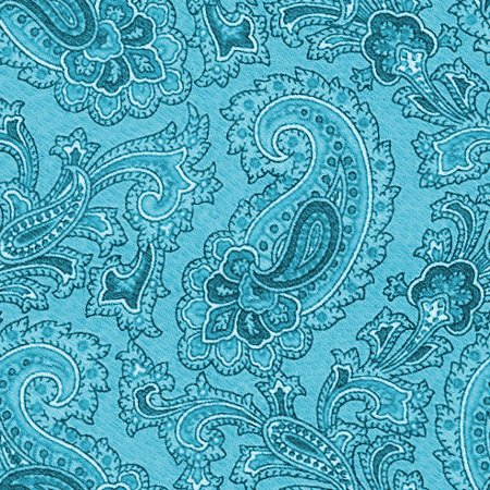 Click to get the codes for this image. Teal Paisley Background Seamless Pattern, Colors  Aqua, Paisleys, Cloth Patterns Background, wallpaper or texture for Blogger, Wordpress, or any phone, desktop or blog.