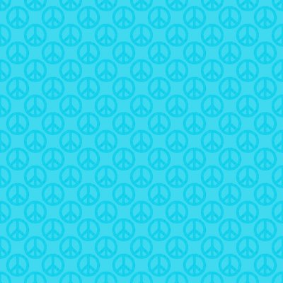 Click to get the codes for this image. Teal Peace Signs Background Seamless, Peace Signs, Colors  Aqua Background, wallpaper or texture for Blogger, Wordpress, or any phone, desktop or blog.