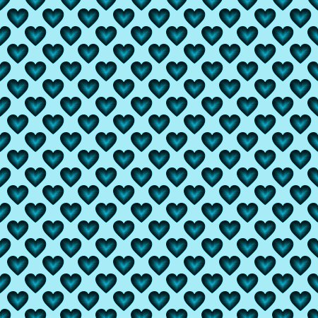 Click to get the codes for this image. Teal Satin Hearts Background Seamless, Colors  Aqua, Hearts Background, wallpaper or texture for, Blogger, Wordpress, or any web page, blog, desktop or phone.