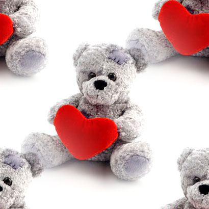 Click to get the codes for this image. Teddy Bear Holding Heart, Teddy Bears Background, wallpaper or texture for any blog, web page, phone or desktop