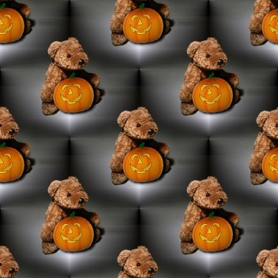 Click to get the codes for this image. Teddy Bears With Halloween Pumpkins, Halloween Background, wallpaper or texture for Blogger, Wordpress, or any phone, desktop or blog.