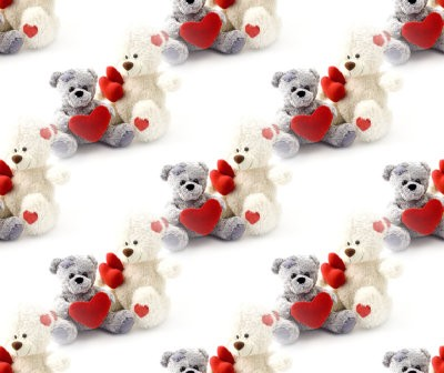 Click to get the codes for this image. Teddy Bears With Hearts, Teddy Bears Background, wallpaper or texture for any blog, web page, phone or desktop