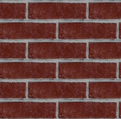 Free Tileable Dark Red Brick Wall Seamless Pattern Background