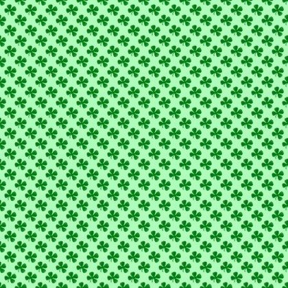 Click to get the codes for this image. Tiny Shamrocks On Green, Saint Patrick's Day, Colors  Green Background, wallpaper or texture for Blogger, Wordpress, or any phone, desktop or blog.