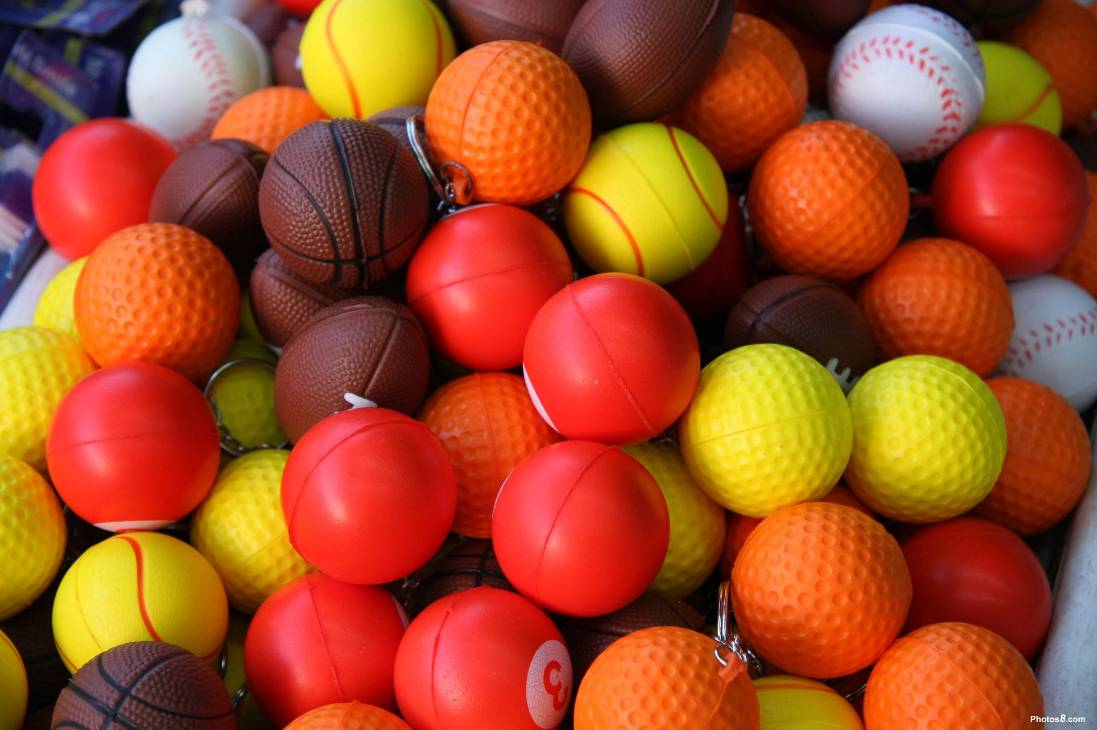 Click to get the codes for this image. Toy Balls Sports, Sports and Athletics Background, wallpaper or texture for any blog, web page, phone or desktop