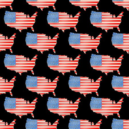 Click to get the codes for this image. Us Flag Map Background Seamless, Patriotic, Fourth of July Background, wallpaper or texture for, Blogger, Wordpress, or any web page, blog, desktop or phone.