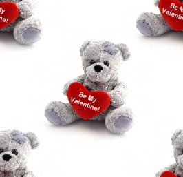 Click to get the codes for this image. Valentine Teddy Bears, Holidays  Valentines Day Background, wallpaper or texture for Blogger, Wordpress, or any phone, desktop or blog.