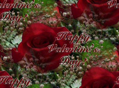 Click to get the codes for this image. Valentines Day Roses With Babys Breath, Holidays  Valentines Day Background, wallpaper or texture for Blogger, Wordpress, or any phone, desktop or blog.