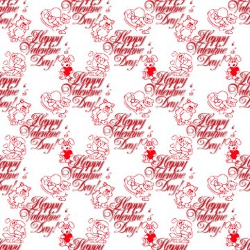 Click to get the codes for this image. Valentines Day Small Red Dingbats, Holidays  Valentines Day Background, wallpaper or texture for Blogger, Wordpress, or any phone, desktop or blog.
